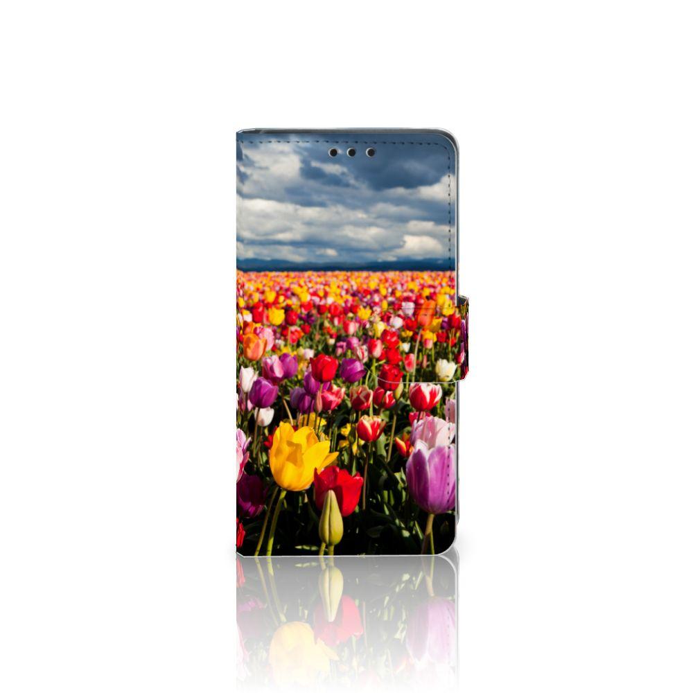 Sony Xperia Z5 | Z5 Dual Uniek Boekhoesje Tulpen