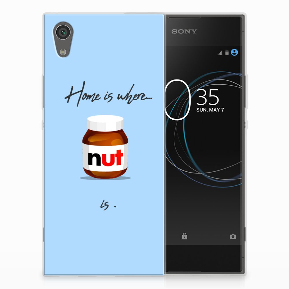Sony Xperia XA1 Siliconen Case Nut Home