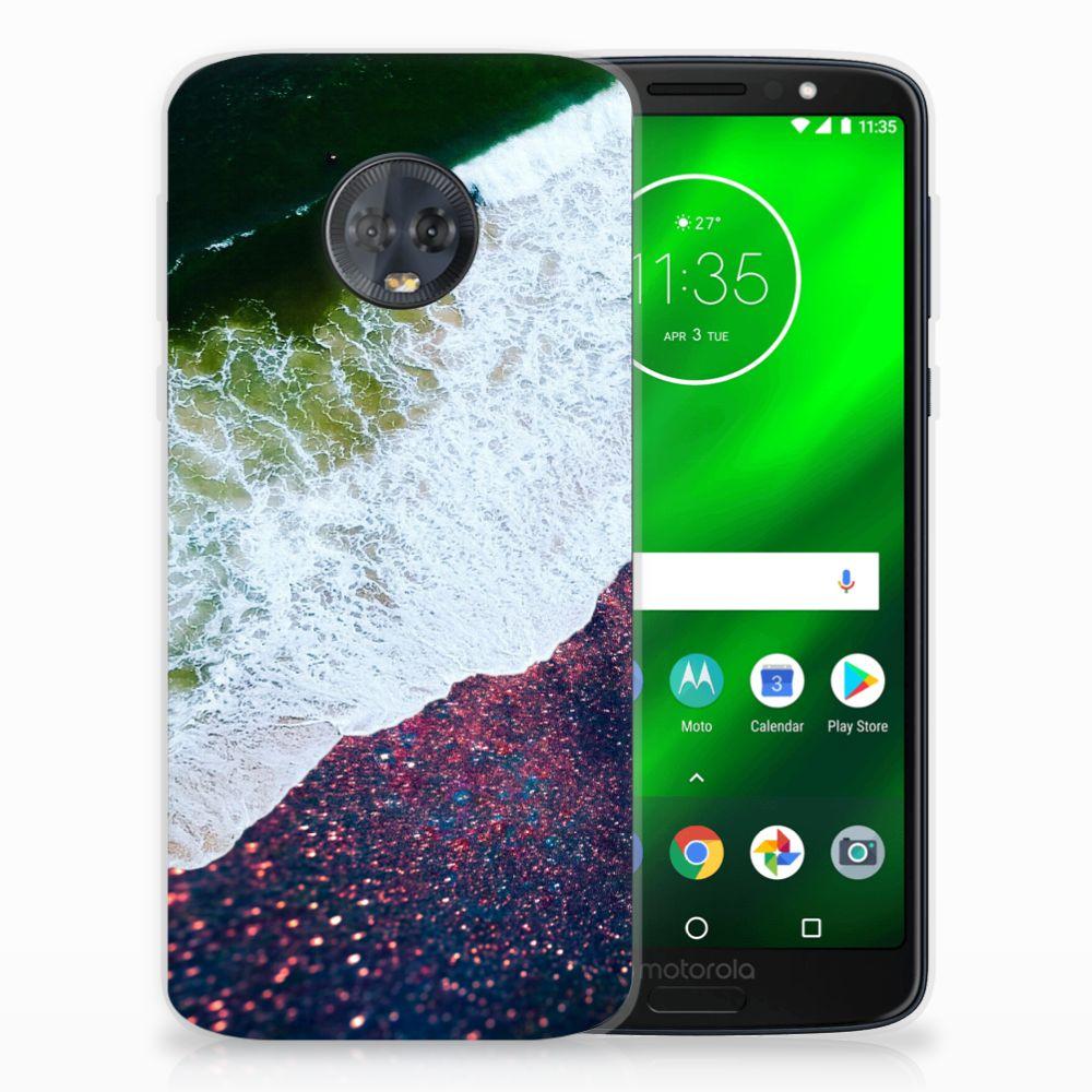 Motorola Moto G6 Plus TPU Hoesje Sea in Space