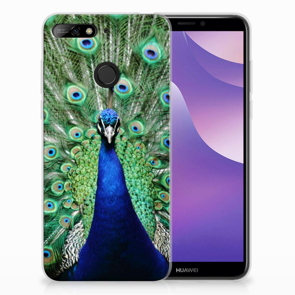 Huawei Y6 (2018) TPU Hoesje Pauw