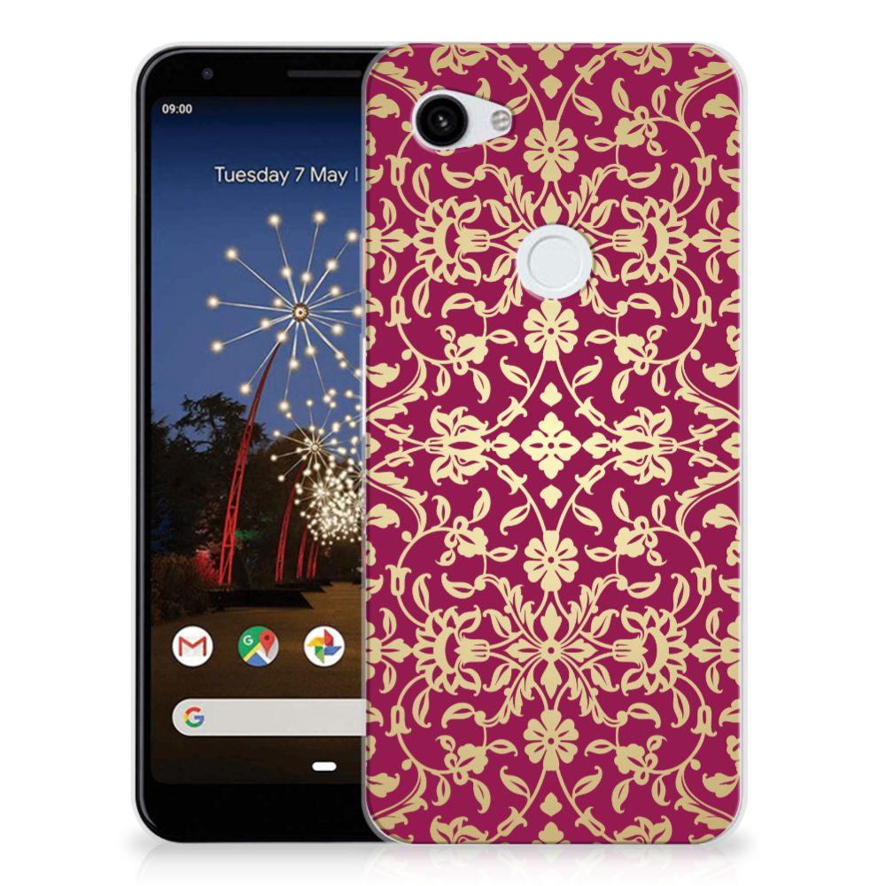 Siliconen Hoesje Google Pixel 3A XL Barok Pink
