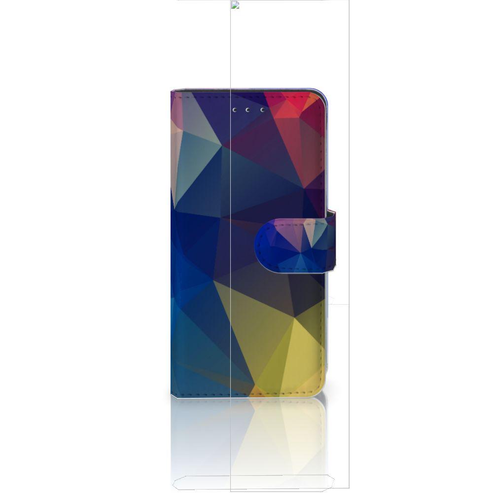 Huawei P20 Bookcase Polygon Dark