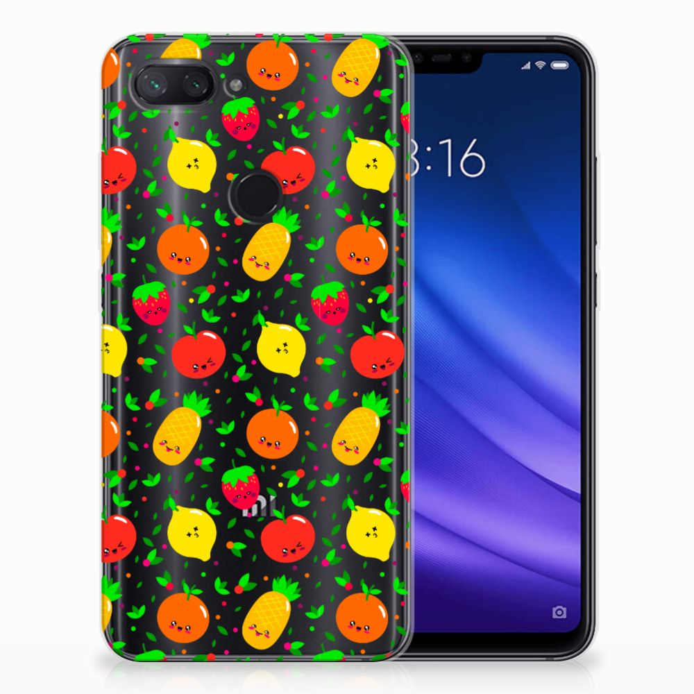 Xiaomi Mi 8 Lite Siliconen Case Fruits