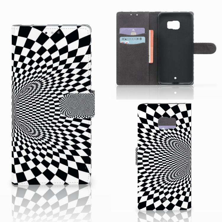 HTC U Ultra Bookcase Illusie