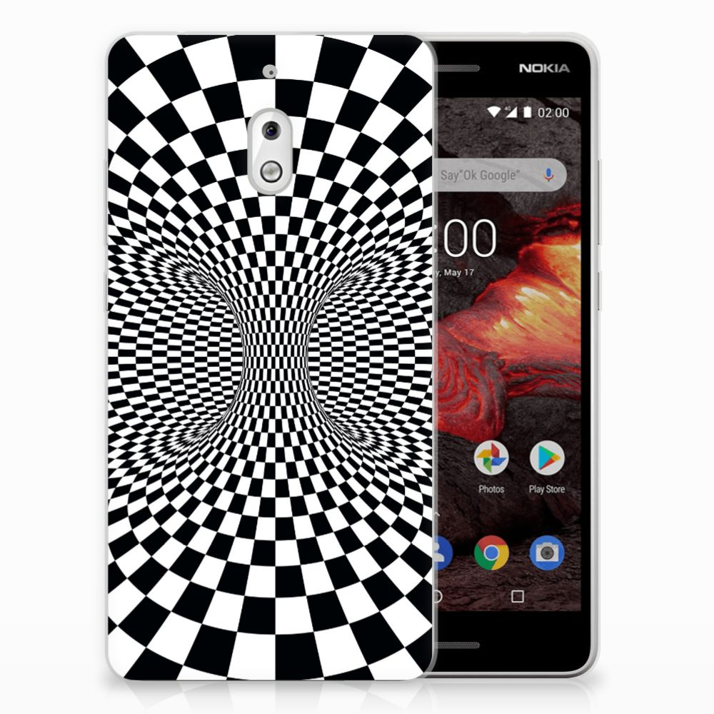 Nokia 2.1 (2018) TPU Hoesje Illusie