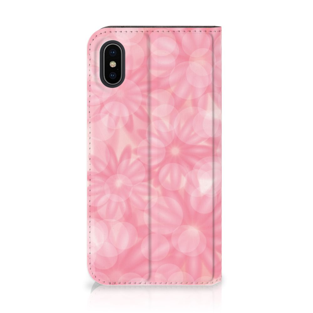 Apple iPhone X | Xs Uniek Standcase Hoesje Spring Flowers