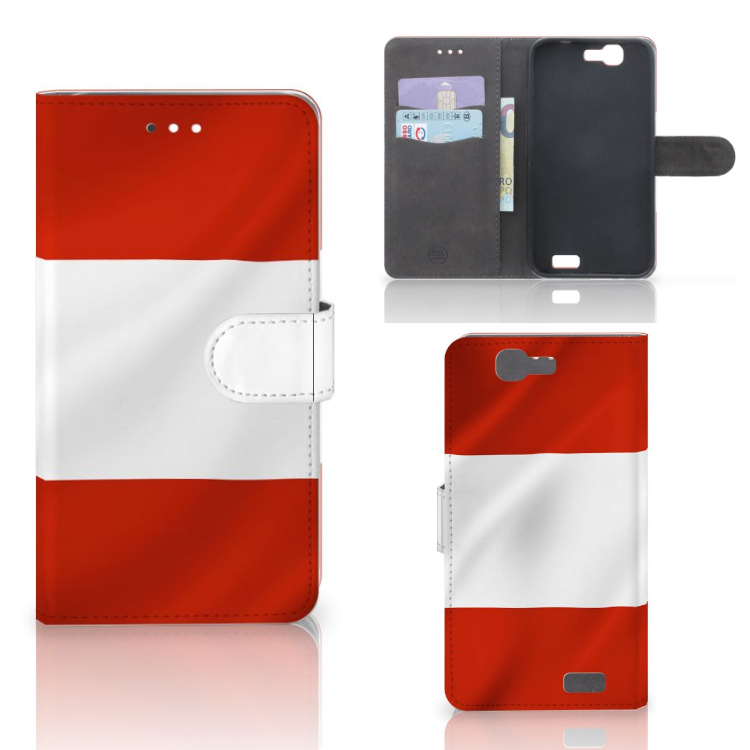 Huawei Ascend G7 Bookstyle Case Oostenrijk