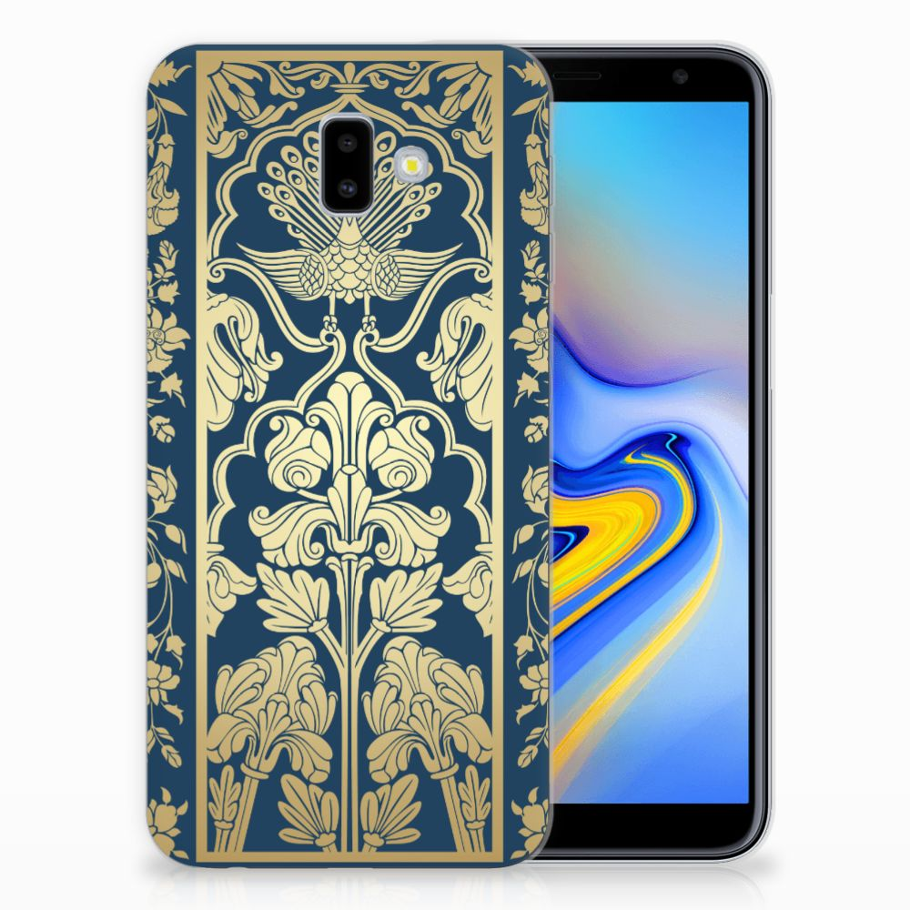 Samsung Galaxy J6 Plus (2018) TPU Case Golden Flowers