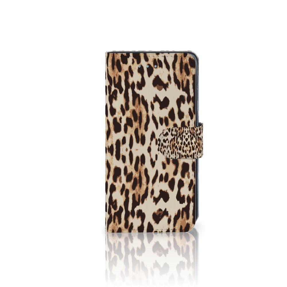 Samsung Galaxy J3 2016 Uniek Boekhoesje Leopard