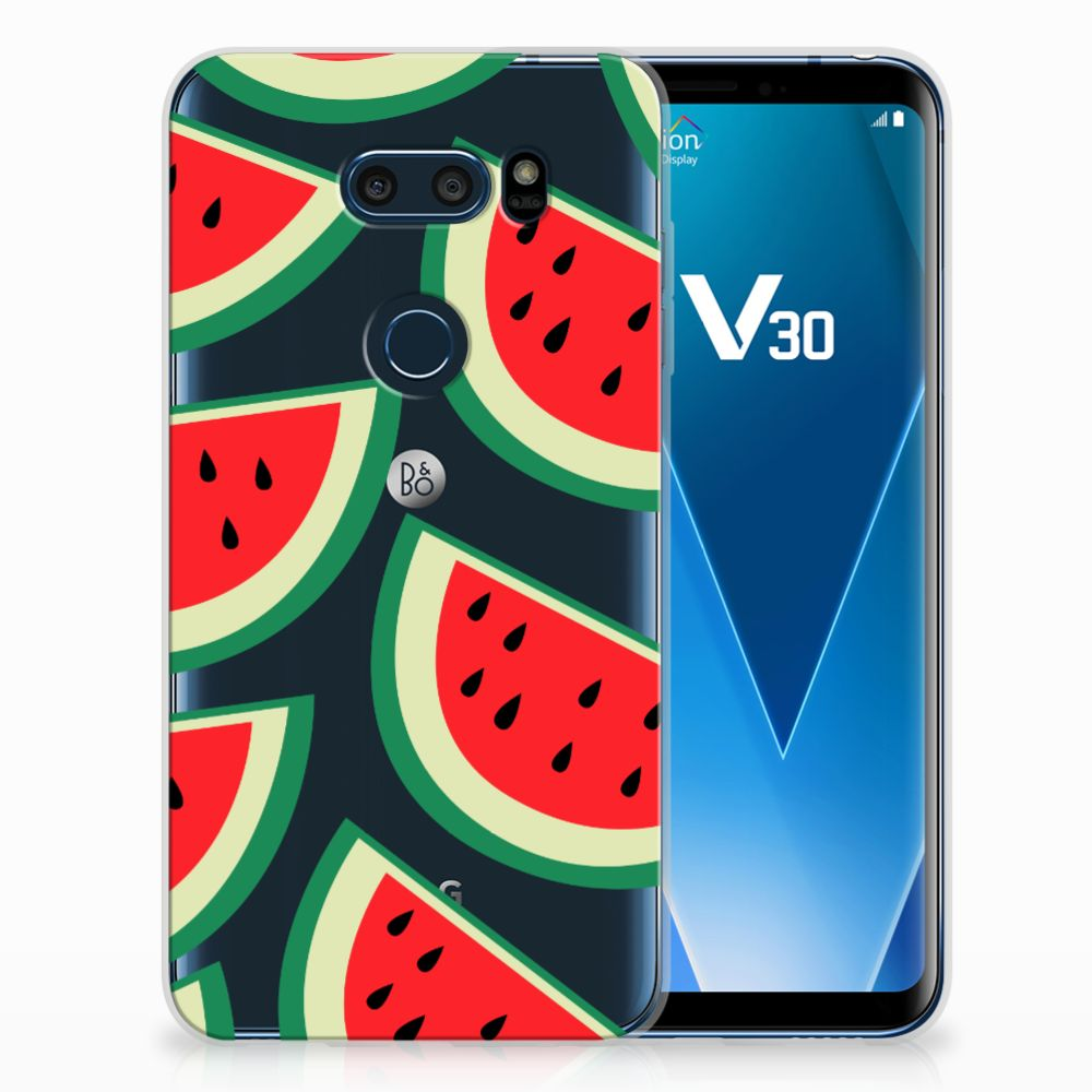 LG V30 Siliconen Case Watermelons
