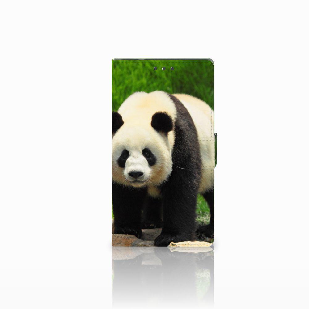 Samsung Galaxy Note 4 Boekhoesje Design Panda