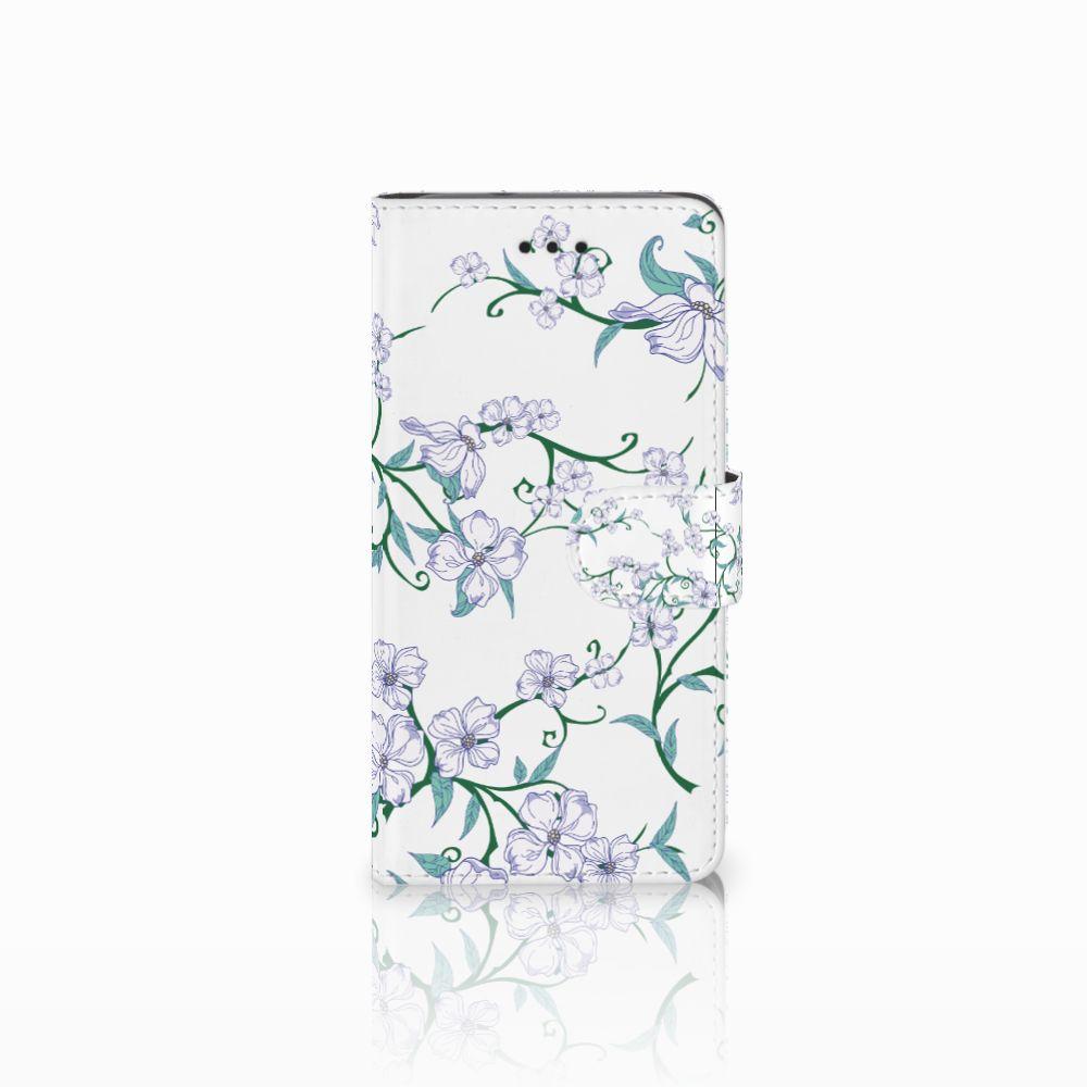 Huawei Y3 2017 Uniek Boekhoesje Blossom White