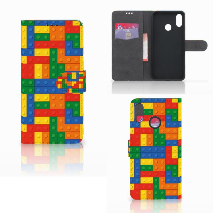 Huawei P Smart Plus Telefoon Hoesje Blokken
