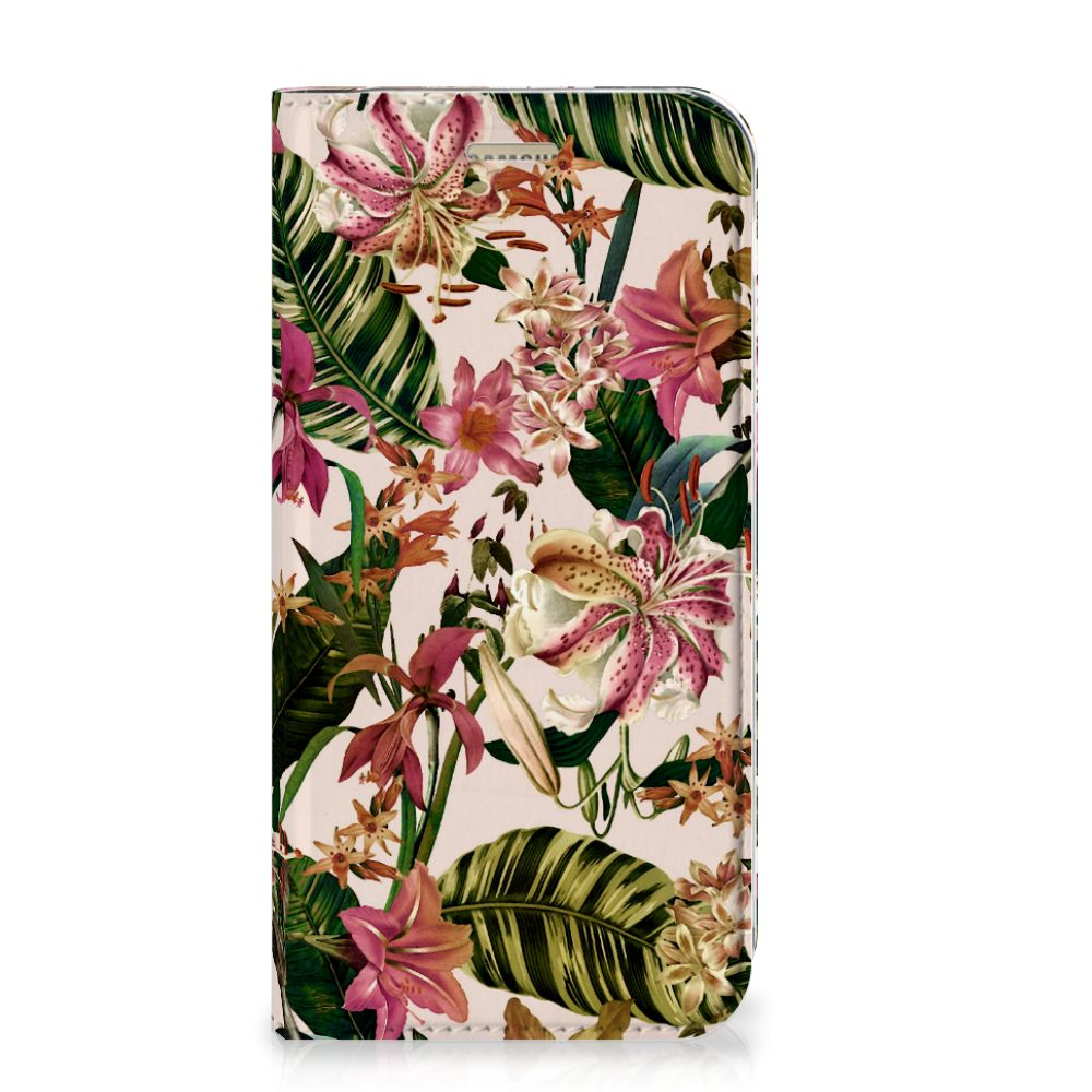Samsung Galaxy A5 2017 Smart Cover Flowers