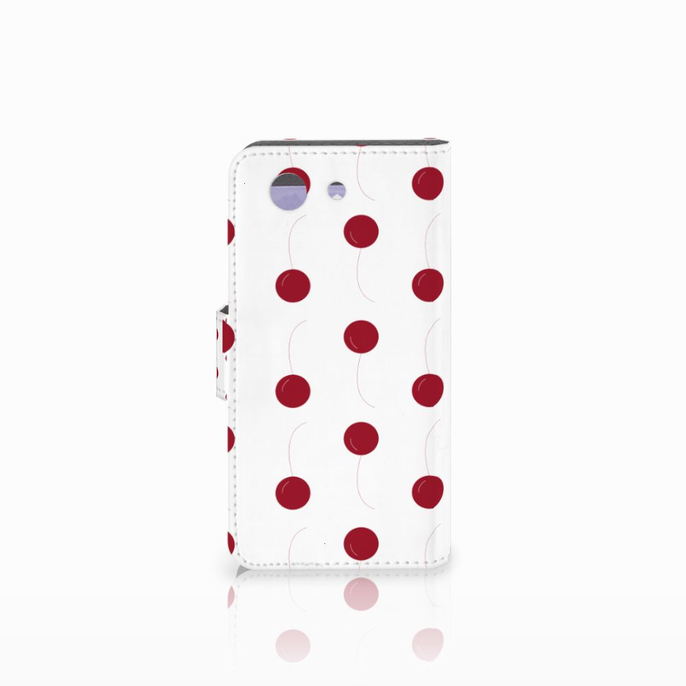 Sony Xperia Z3 Compact Book Cover Cherries
