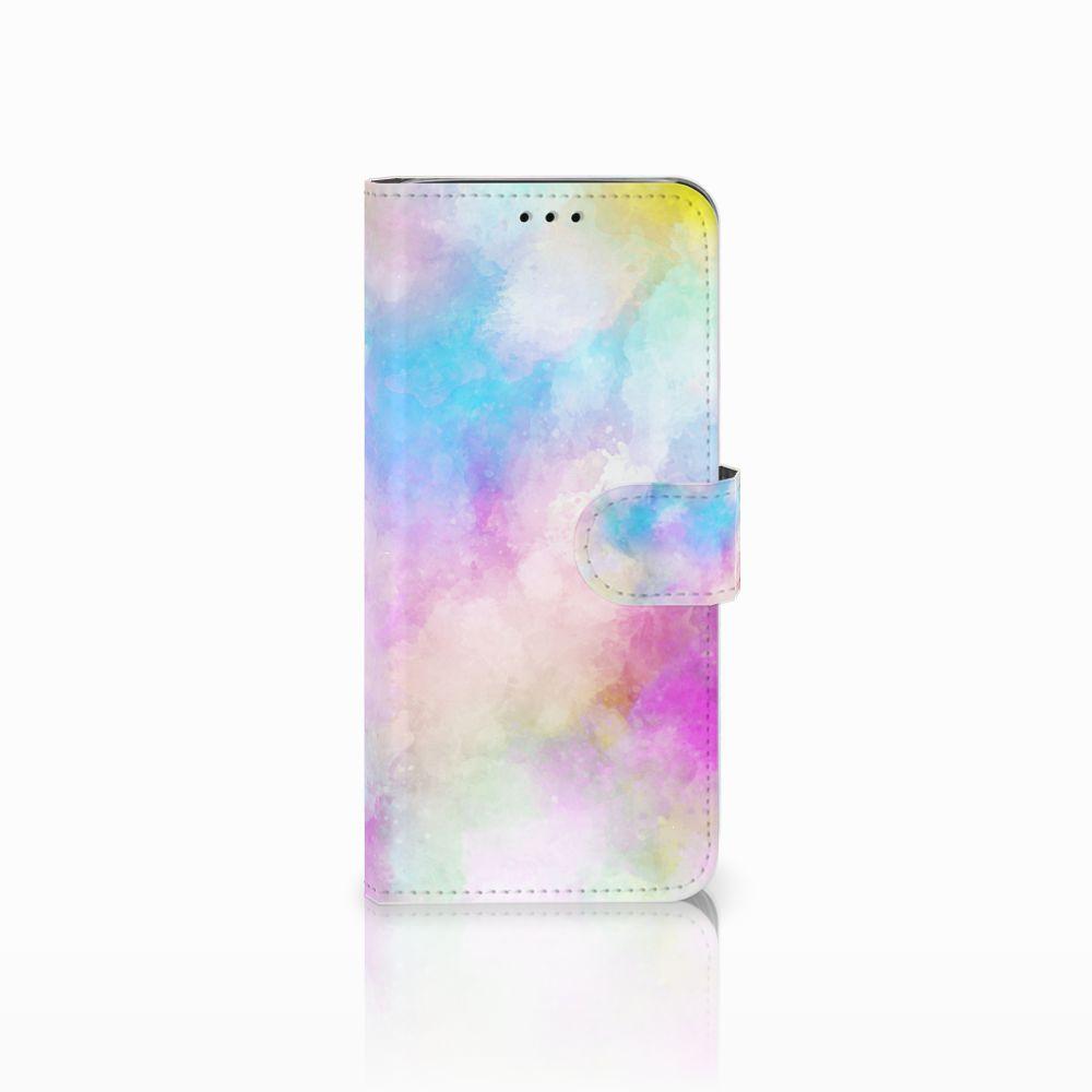 Samsung Galaxy J6 2018 Uniek Boekhoesje Watercolor Light