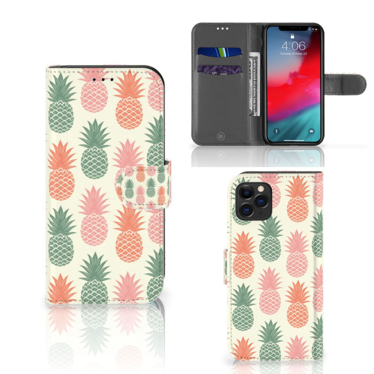 Apple iPhone 11 Pro Book Cover Ananas