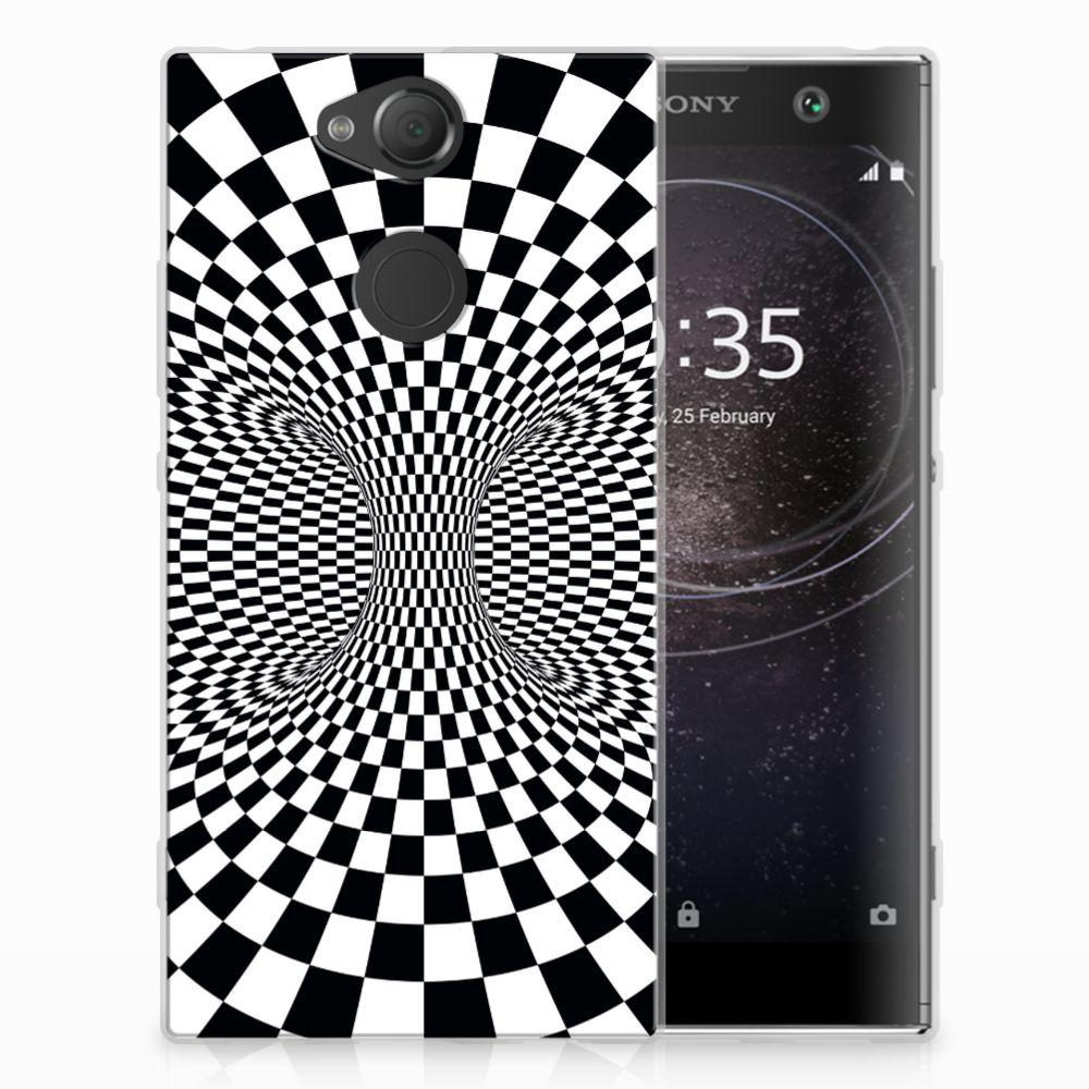 Sony Xperia XA2 TPU Hoesje Illusie