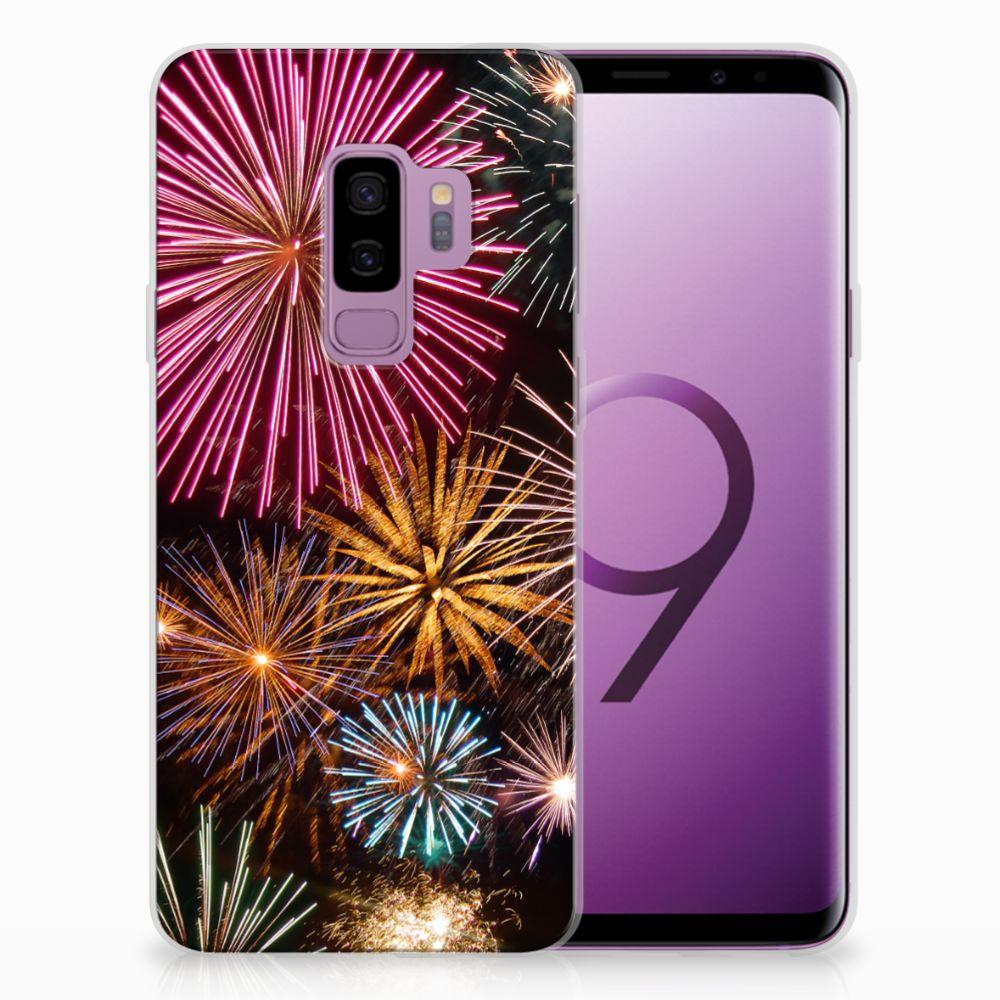 Samsung Galaxy S9 Plus TPU Hoesje Design Vuurwerk
