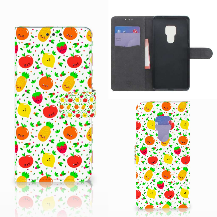 Huawei Mate 20 Book Cover Fruits