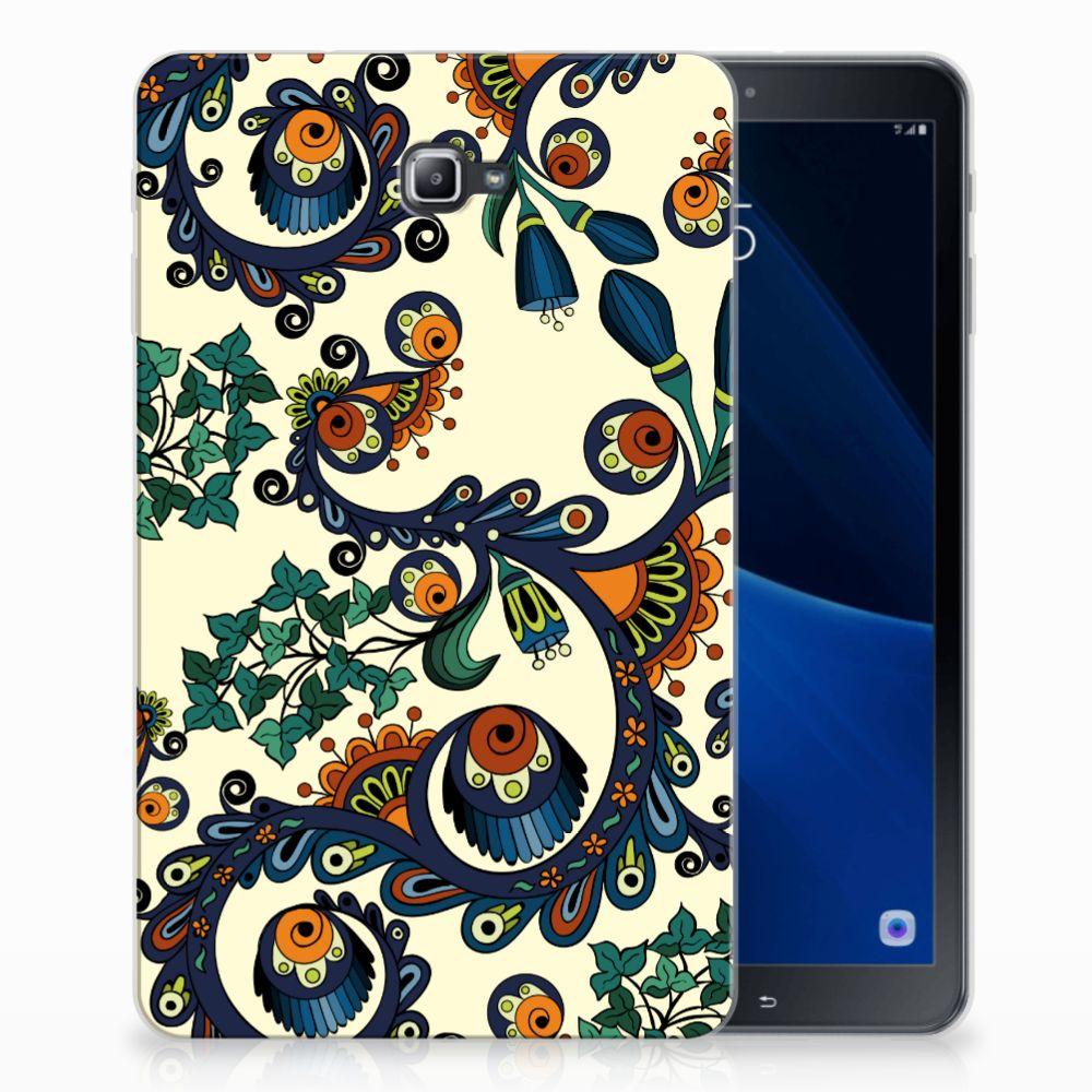 TPU Case Samsung Galaxy Tab A 10.1 Barok Flower