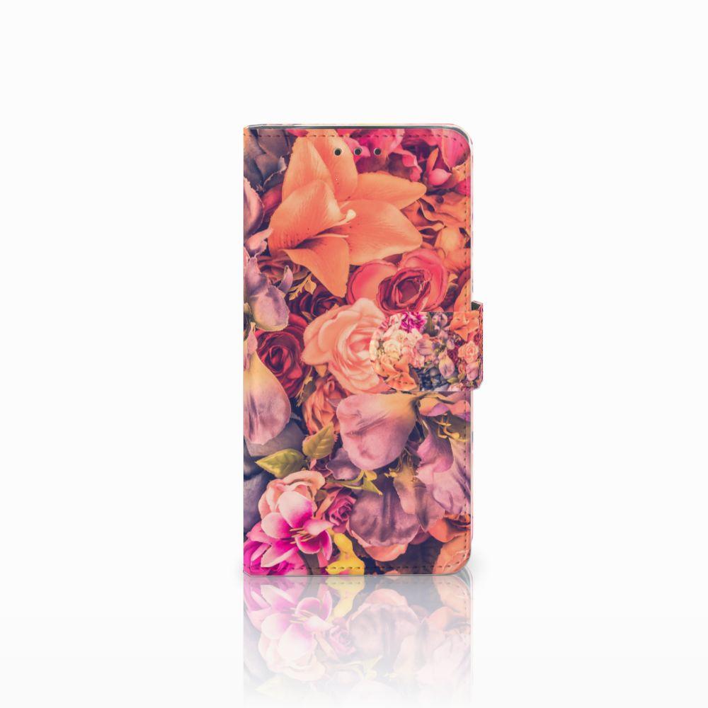 Motorola Moto X4 Boekhoesje Design Bosje Bloemen