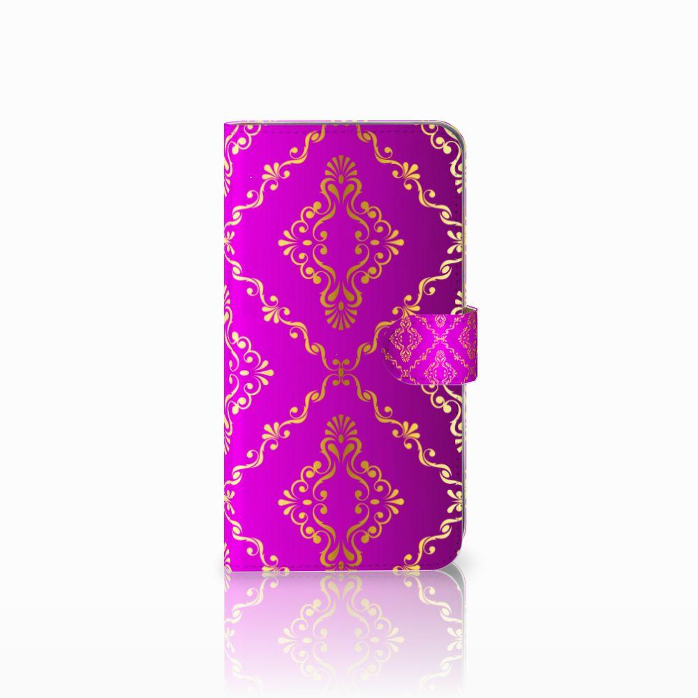 Huawei Mate 9 Uniek Boekhoesje Barok Roze