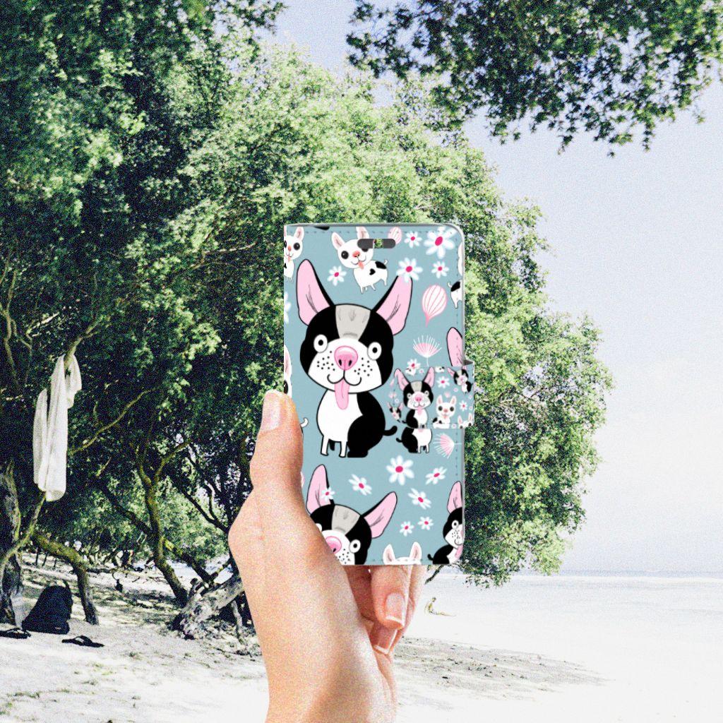 Huawei Y625 Telefoonhoesje met Pasjes Hondjes