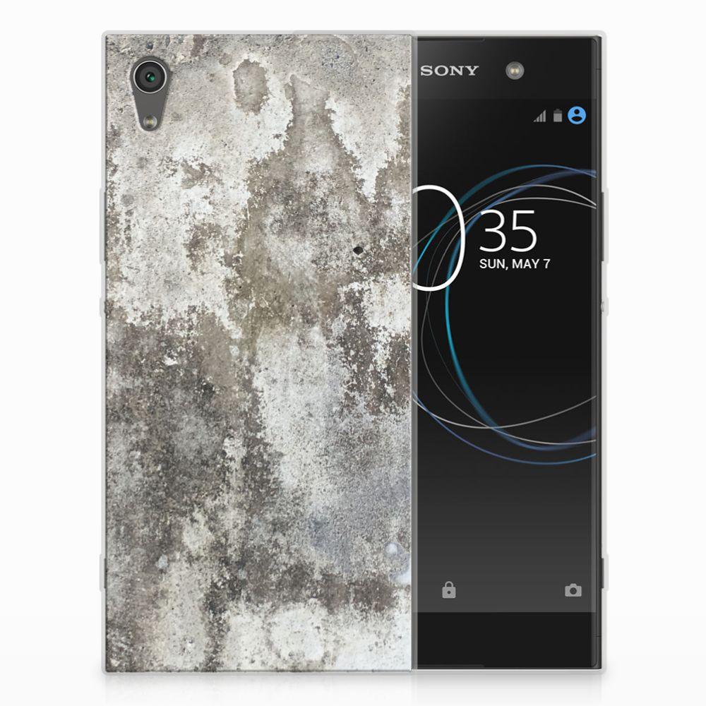 Sony Xperia XA1 Ultra TPU Hoesje Design Beton