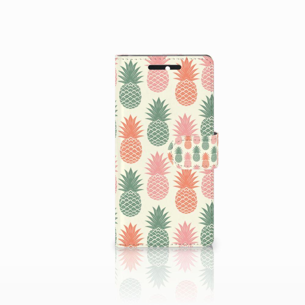 HTC Desire 628 Boekhoesje Design Ananas