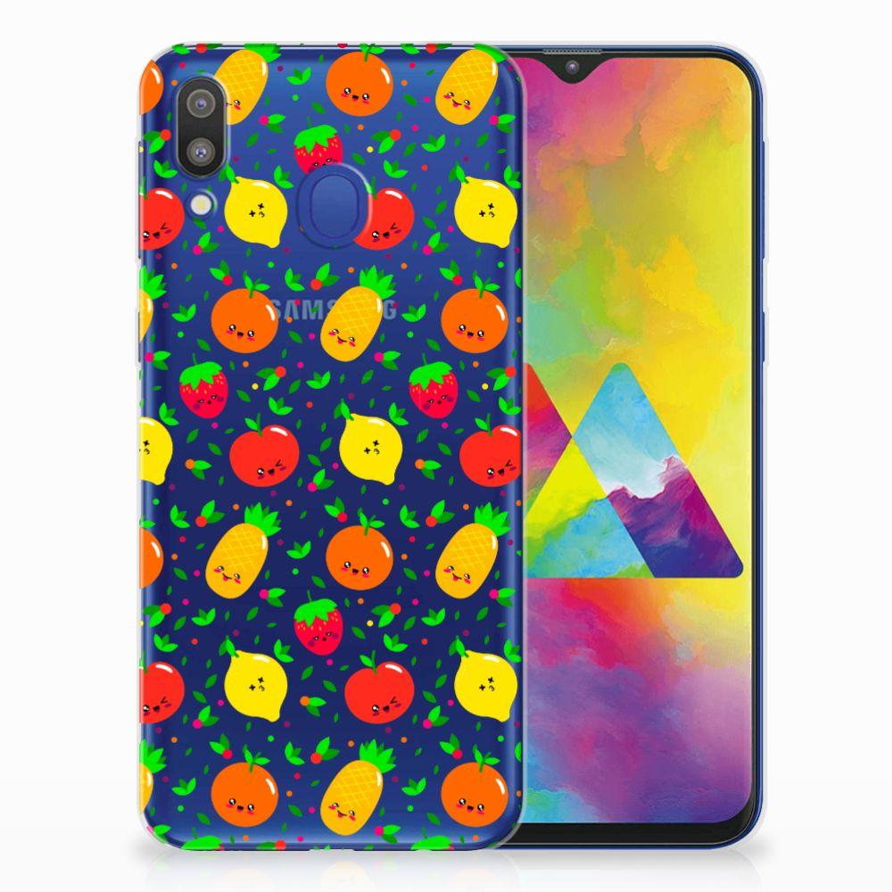 Samsung Galaxy M20 (Power) Siliconen Case Fruits
