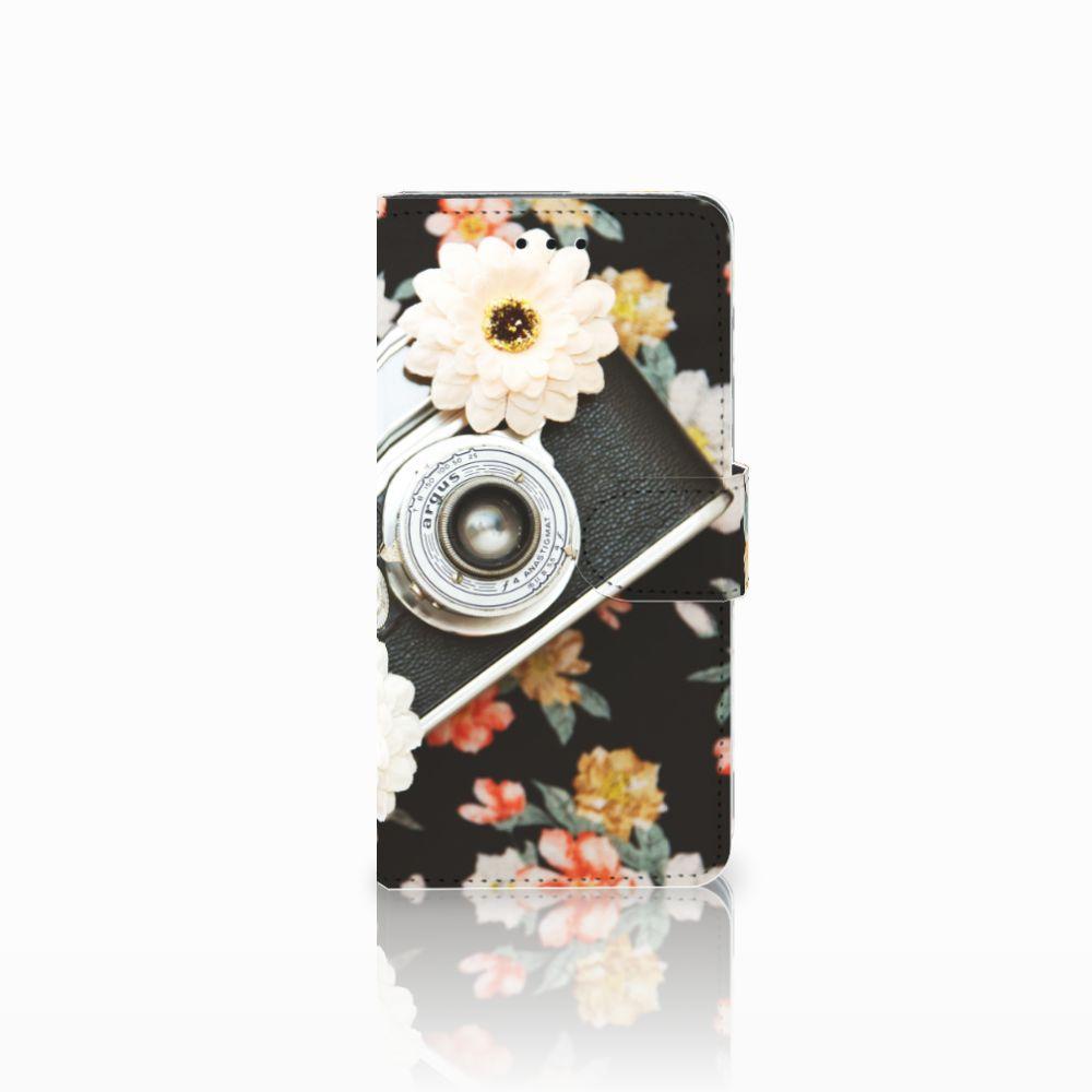 Huawei Y5 2018 Uniek Boekhoesje Vintage Camera