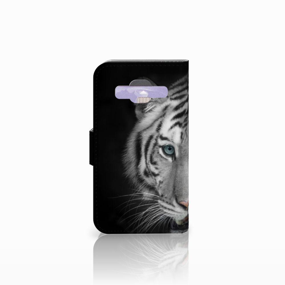 Samsung Galaxy Core Prime Telefoonhoesje met Pasjes Tijger