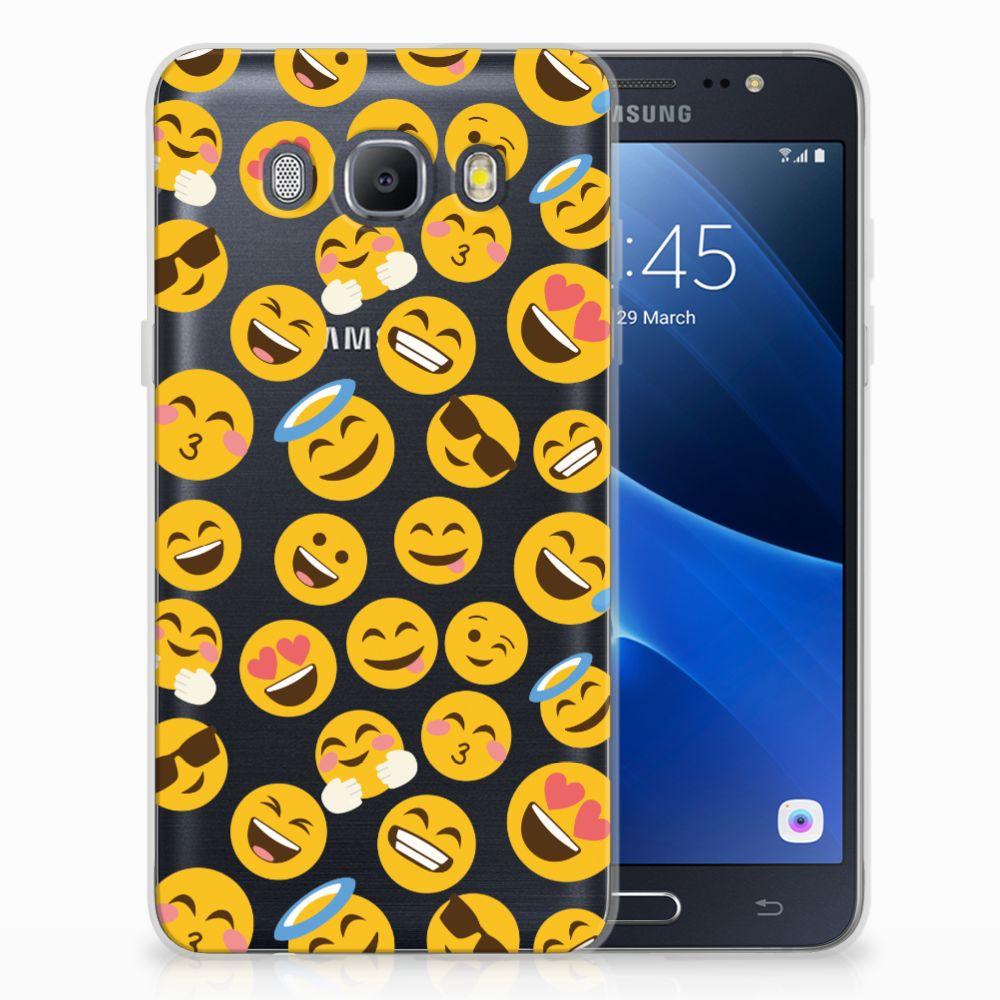 Samsung Galaxy J5 2016 TPU Hoesje Design Emoji