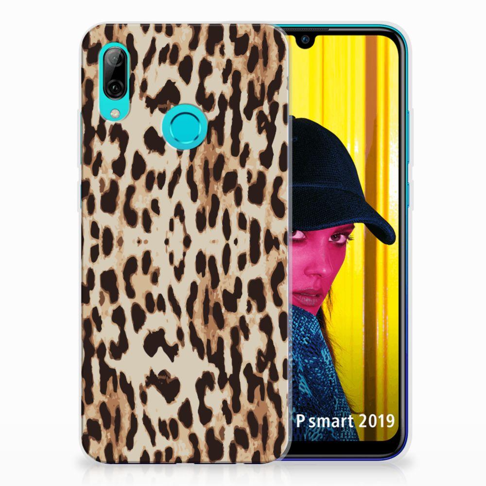 Huawei P Smart 2019 TPU Hoesje Leopard