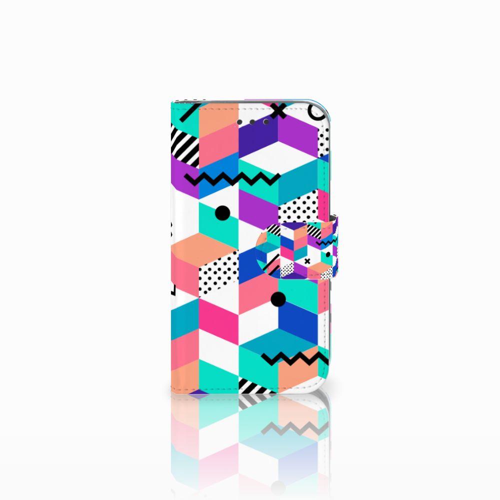 Samsung Galaxy Core Prime Bookcase Blokken Kleurrijk