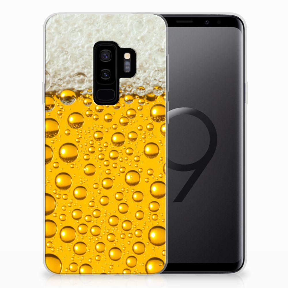 Samsung Galaxy S9 Plus Siliconen Case Bier