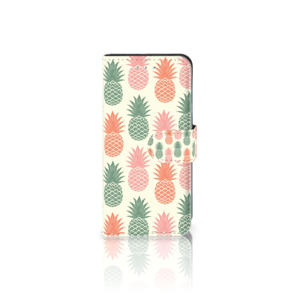 Samsung Galaxy S6 Edge Boekhoesje Design Ananas