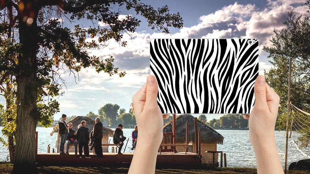 Lenovo Tab P10 Back Case Zebra