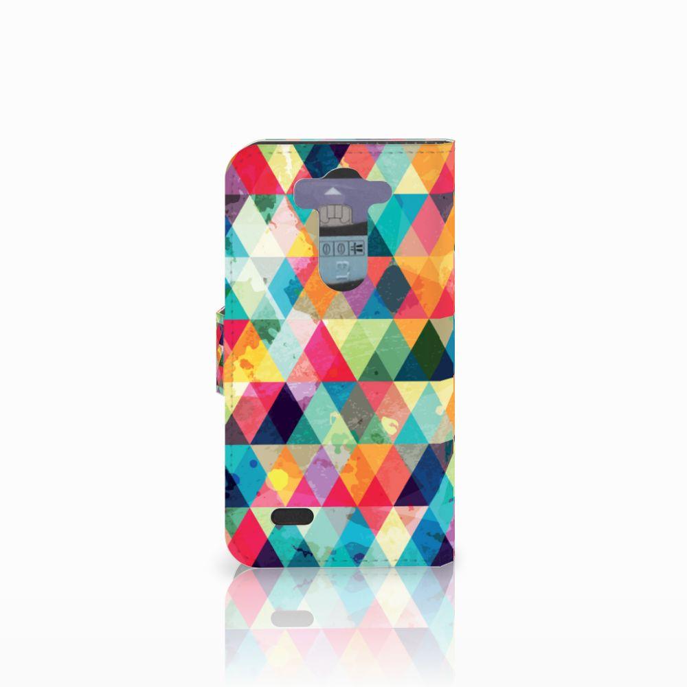 LG G3 S Telefoon Hoesje Geruit