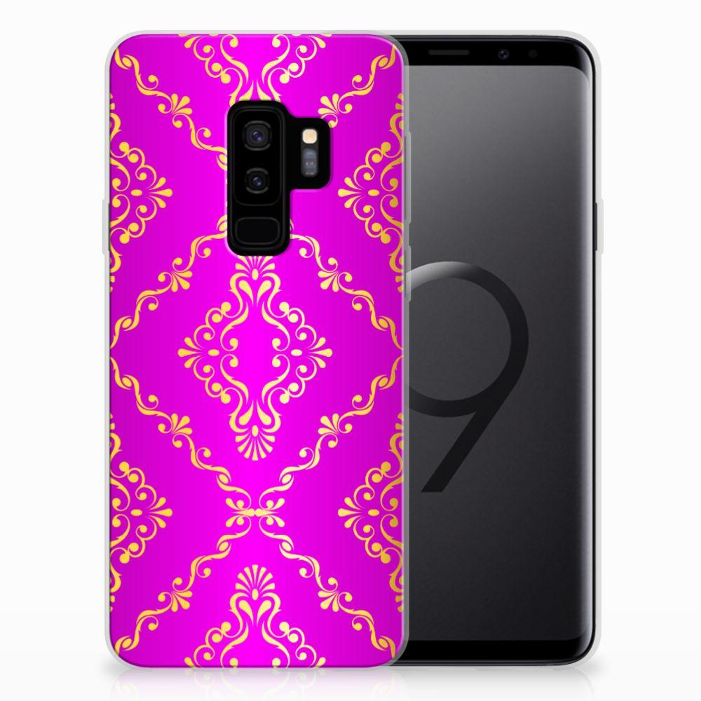 Siliconen Hoesje Samsung Galaxy S9 Plus Barok Roze