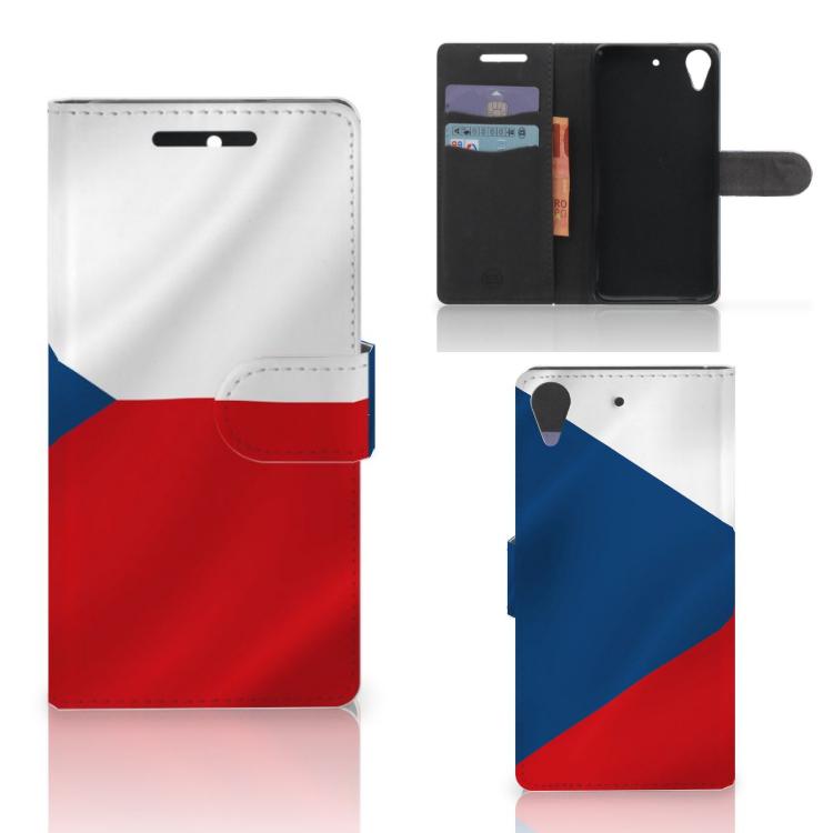 HTC Desire 628 Bookstyle Case Tsjechië
