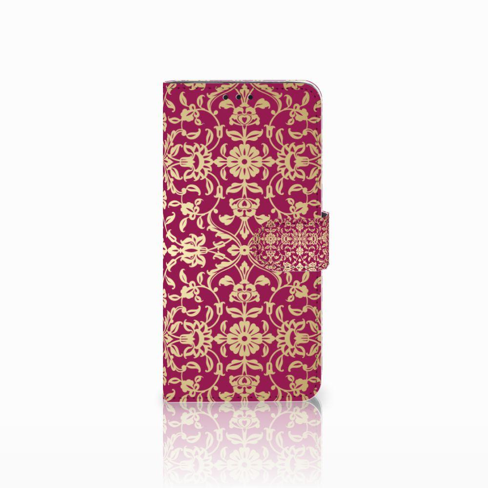 Huawei Nova 4 Boekhoesje Design Barok Pink