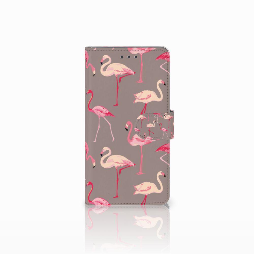 Huawei Honor 5X Uniek Boekhoesje Flamingo