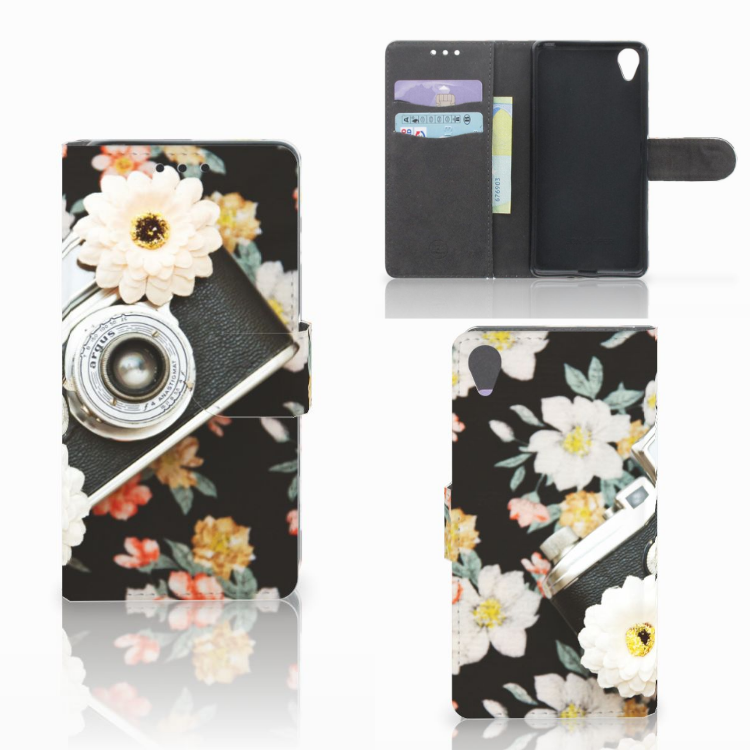 Sony Xperia X Telefoonhoesje met foto Vintage Camera