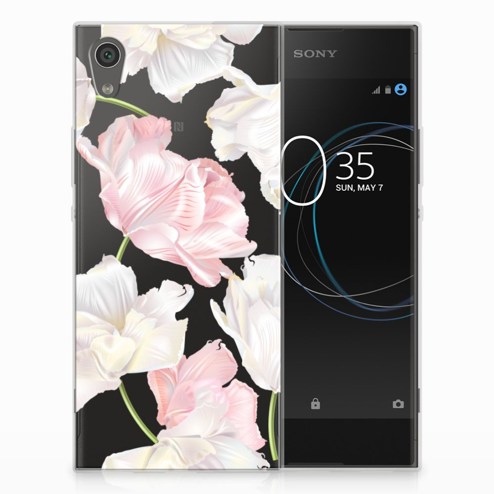 Sony Xperia XA1 TPU Hoesje Design Lovely Flowers