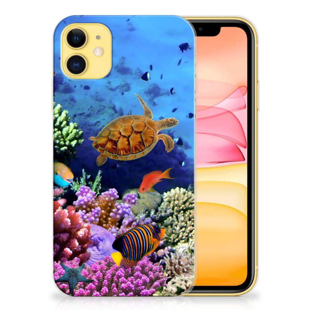 Apple iPhone 11 TPU Hoesje Vissen