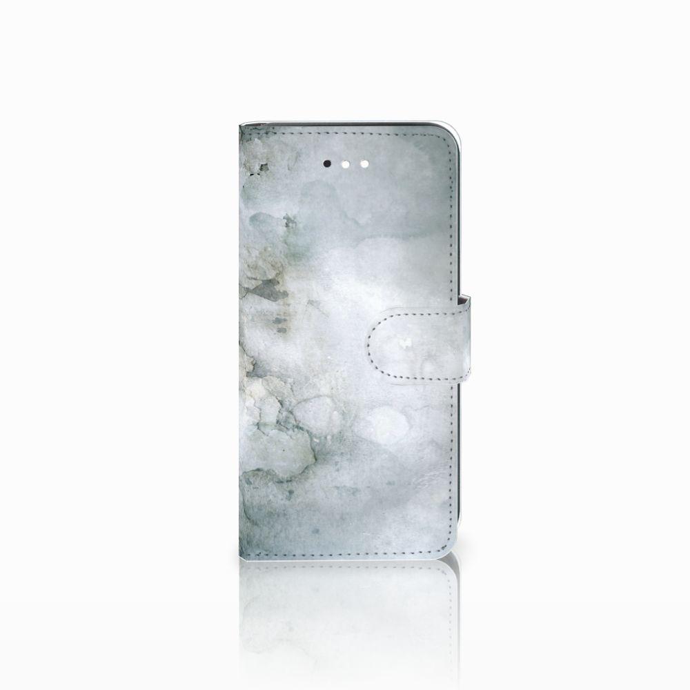 LG K11 Uniek Boekhoesje Painting Grey