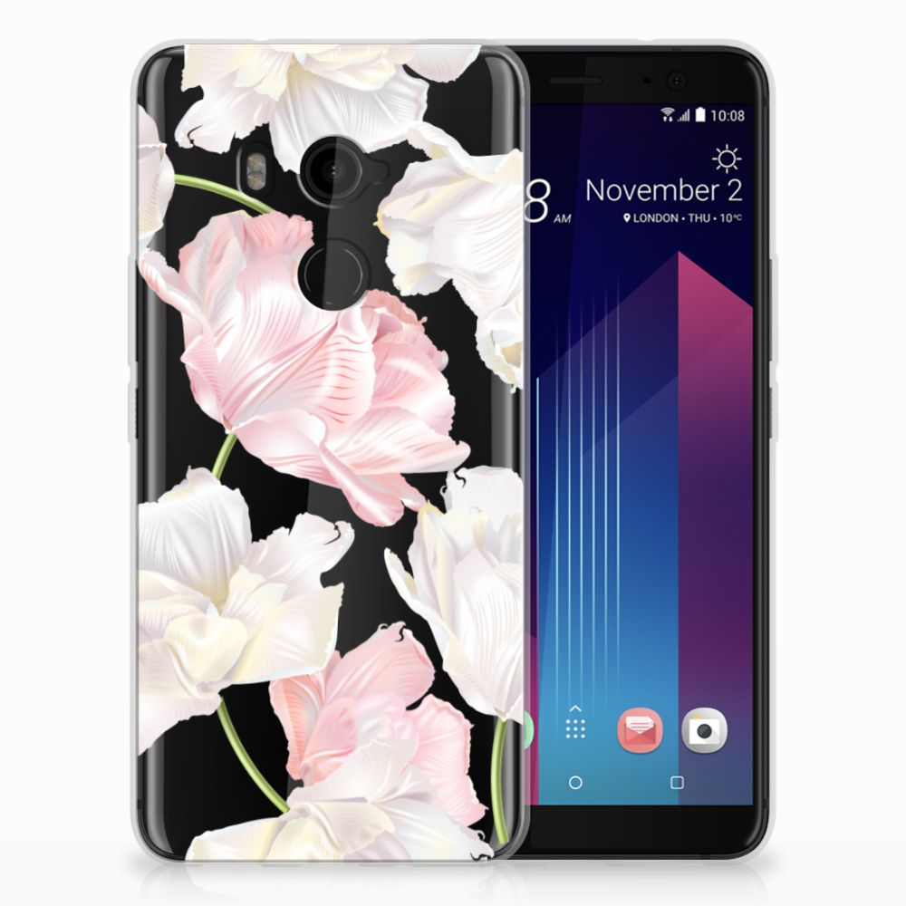 HTC U11 Plus TPU Hoesje Design Lovely Flowers