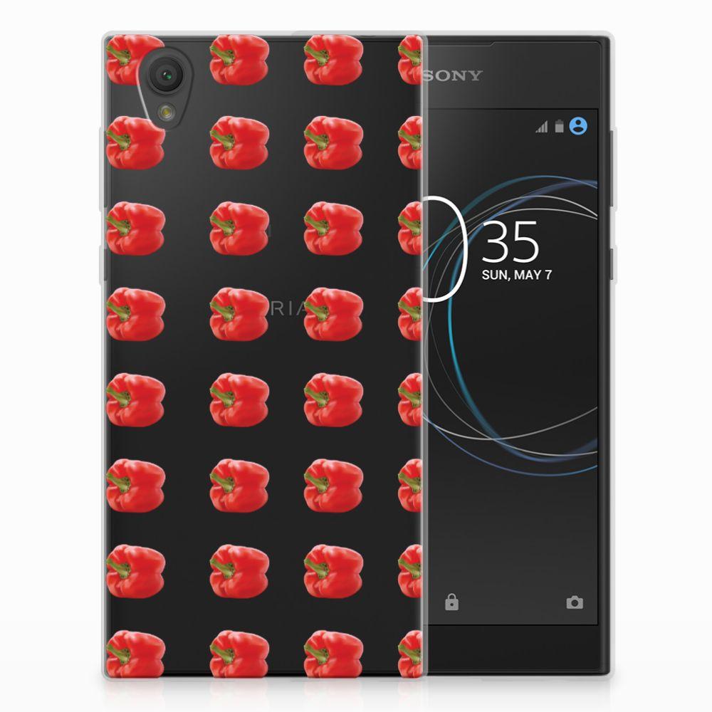 Sony Xperia L1 Siliconen Case Paprika Red